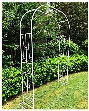 Metal Garden Arbor Wedding Arch Trellis for