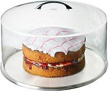 Metal Handle Cake Dome 30cm - Set of 6 | Plastic