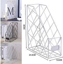 Metal Magazine Newspaper Wire Basket Storage Rack