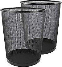 Metal Mesh Bin, Metal Trash Bin, Wastebasket Bin,