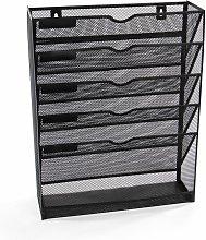 Metal Mesh Wall Mounted File Organiser   M&W -