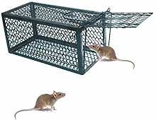 Metal Mouse Trap with Automatic Spring Trigger