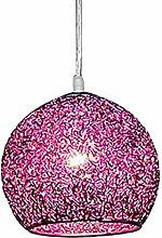 Metal Pendant Light Colorful Ball - Hanging