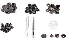 Metal Press Stud Snap Button Fastener Durable