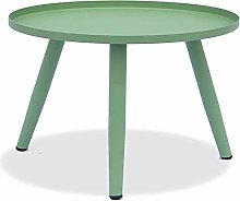 Metal Side Table Accents Round Coffee Table Small