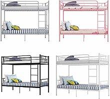 Metal Single Bunk Beds Siblings Twins Bedroom