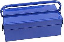 Metal Tool Box 2 Tier 3 Tray Professional Portable