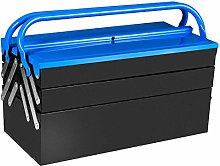 Metal Tool Box 3 Tier 5 Tray Professional Portable
