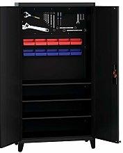 Metal Tool Cabinet, Garage Storage Cabinet Steel