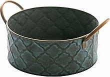 Metal Vintage Fruit Basket Bowl Bread Baskets