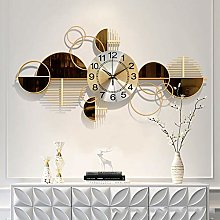 Metal Wall Clock Large Size 100cm, 3D Wall Clocks