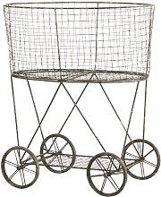 Metal Wire Basket August Grove