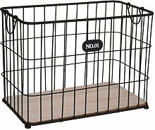 Metal/Wire Basket Brambly Cottage Size: 37cm H x