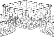Metal/Wire Basket Brambly Cottage