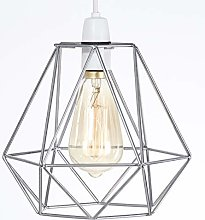 Metal Wire Basket Cage Style Light Shade, Funky