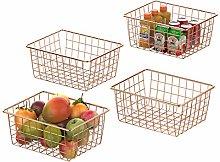 Metal Wire Basket, GSlife Metal Wire Storage