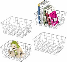 Metal Wire Basket, Metal Wire Storage Organizer