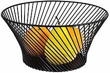Metal Wire Fruit Basket - Kitchen Countertop Fruit
