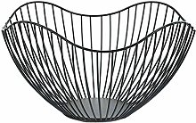 Metal Wire Fruit Container Dish Rack Modern