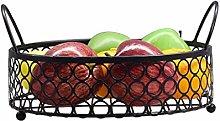 Metal Wire Iron Fruit Tray Shopping Basket Storage
