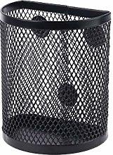 Metal Wire Mesh Magnetic Basket Storage Box Pen