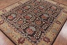 Metallic Brown Traditional Persian Old Style