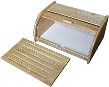Metaltex 69043510080 Bread Bin and Board