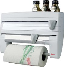 Metaltex Roll-n-Roll 4-In-1 Kitchen Roll Holder