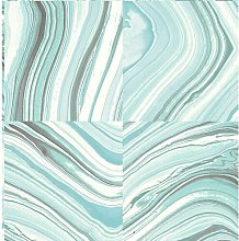 Metamorphis Teal Marble 5.5m L x 52cm W Abstract