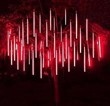 Meteor Shower Lights,30cm Waterproof Spiral Tubes