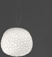 Meteorite Pendant - Ø 15 cm by Artemide White