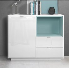 Metro Chest of Drawers Vladon Colour: Jade green