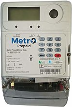 Metro Prepayment Electric Meter. Top-up via