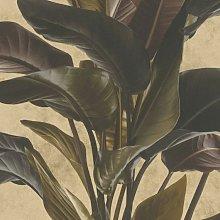 Metropolitan Stories Leaf Vinyl Wallpaper Textured