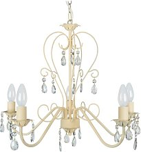 Metson 5-Light Candle Style Chandelier Lily Manor