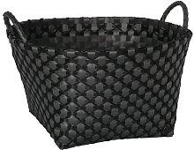 Metz Laundry Bin Handed By Colour: Dark Grey/Black
