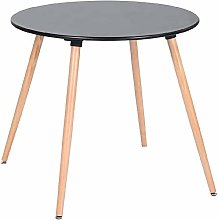 MEUBLE COSY, Dining Table Round Kitchen Coffee