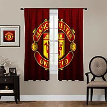 MEW Anime Blackout Curtains,Manchester United (3),