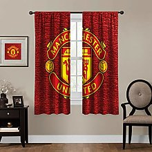 MEW Anime Blackout Curtains,Manchester United (8),