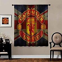 MEW Anime Blackout Curtains,Manchester United UK