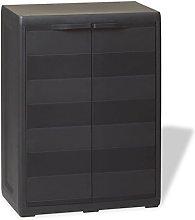 mewmewcat Garden Storage Cabinet Tool Storage with