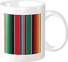 Mexican Rug Serape Stripes The Arts Mug 11 oz
