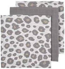 MEYCO - Muslin Squares 3 Pack Panther Neutral