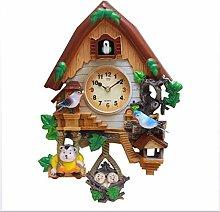 MEYLEE Cartoon Alarm Clock,Cuckoo Clock Quartz