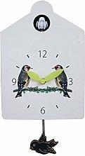 MEYLEE Cuckoo Clock Cuckoo Wall Clock, Natural