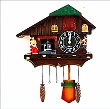 MEYLEE Cuckoo Clock Traditional Chalet Black