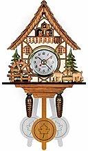 MEYLEE Vivid Large Cuckoo Clock Wall Cuckoo Clock,