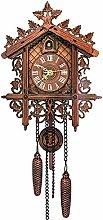 MEYLEE Wall Clocks Cuckoo Clocks, Vintage Look