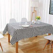 MF Geometry Rectangle Waterproof Table Cloth