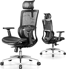 mfavour Ergonomic Home Office Chair with Unique